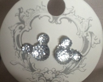 Mickey Mouse inspired stud earrings