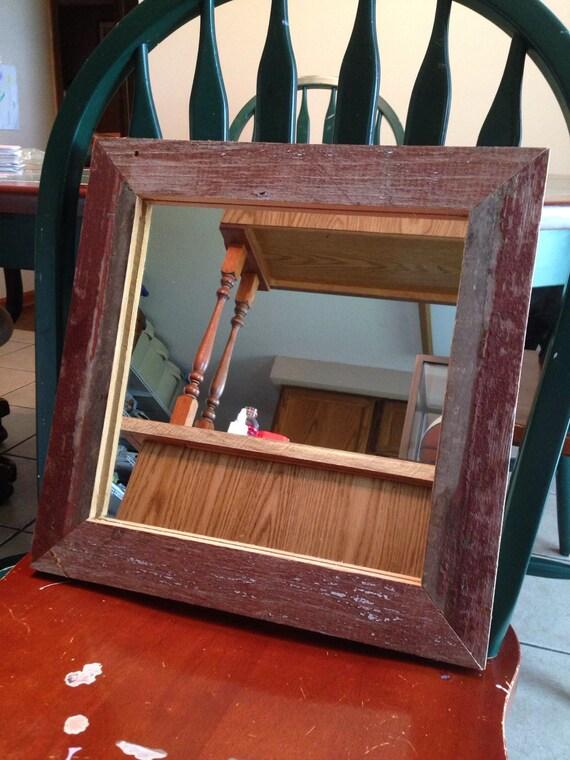 Reclaimed Barn Wood Wall Mirror