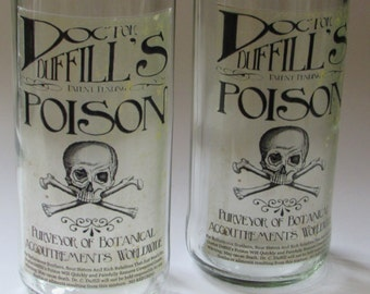 Poison Pair of Tall Glasses
