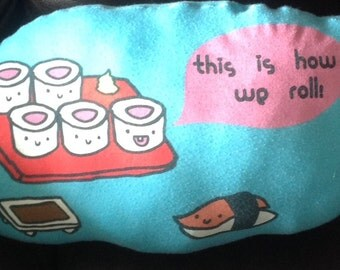 It's How We Roll Recycled T-shirt Pillow