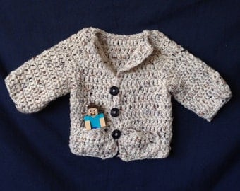 Baby Button Up Sweater
