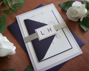 Script Wedding Invitation Sample