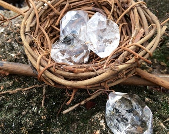 Herkimer Quartz 'Diamond', Naturally Double Terminated, MEGA AMPLIFIER of other stones/energies, Acension Stone, Clairvoyance, Clairaudient