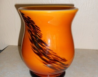 Vintage Laura Glass Vase