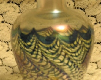 Robert Held pulled feather vase