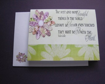 The Best and Most Beautiful...Note Cards, Set of 2