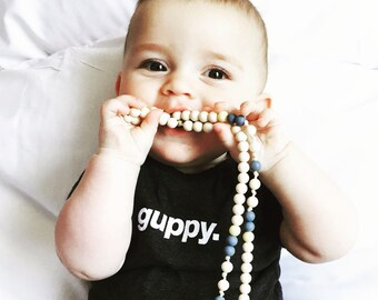 guppy. baby onesie