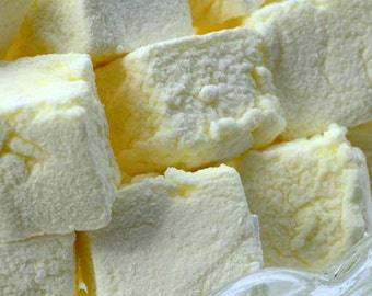 Marshmallow - Sicilian Lemon  - 12 Pieces Per Bag.