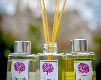 Aromatherapy reed diffuser with pure essential oils - 100ml