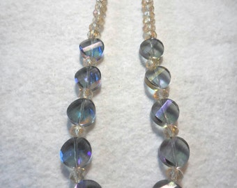 "18"" Crystal princess necklace"