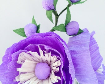 Paper Flower Arrangement, Wedding Arrangement, Paper Flowers, Wedding Bouquet, Wedding Paper Flowers, Wedding Centerpiece