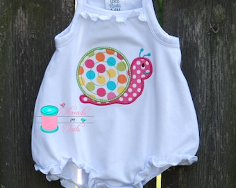 Snail Applique Bubble, Snail Applique Shirt, Snail Applique Bodysuit, Snail Applique Shirt, Girls Applique Shirt