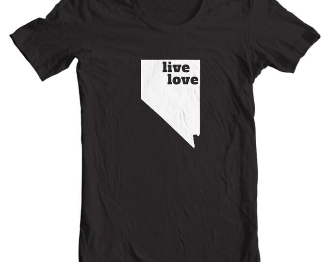 Nevada T-shirt - Live Love Nevada - My State Nevada T-shirt