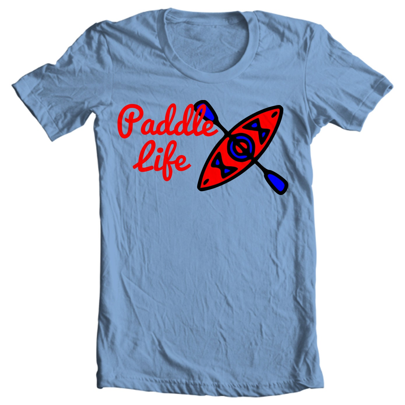 Kayak T-shirt - Paddle Life Kayaking T-shirt