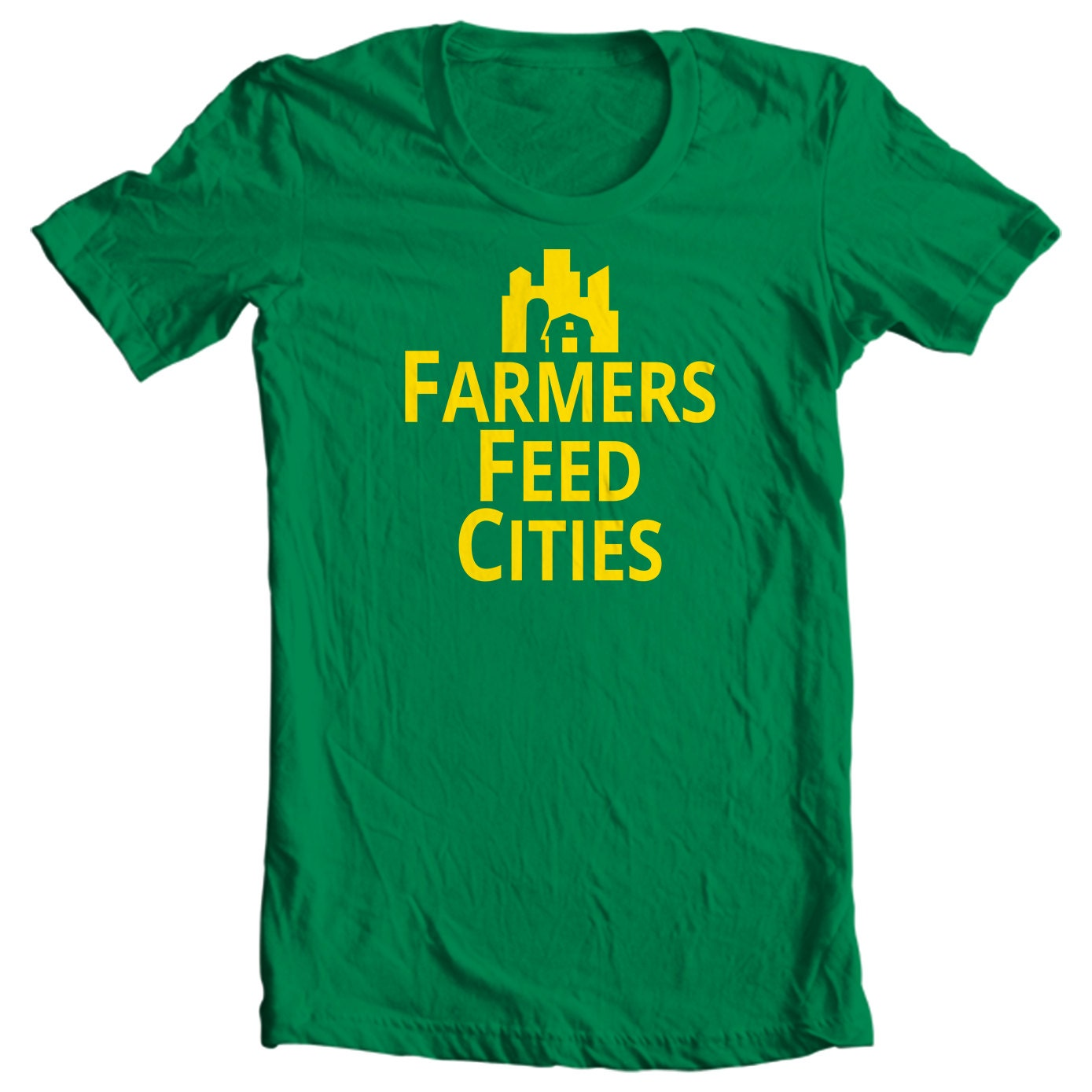 Farmers Feed Cities - Country Living T-shirt