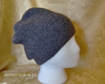 grey wool slouch hat