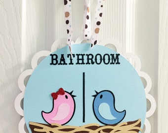 Cute Restroom Signs Funny Bathroom Sign Etsy