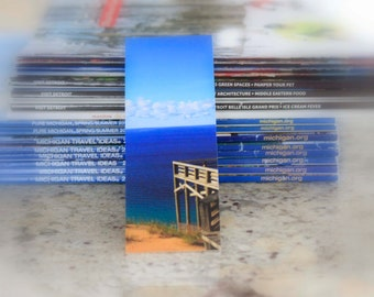 Michigan Photography Bookmark Looking Out Onto Lake Michigan Sleeping Bear Dune