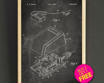 Computer mouse patent poster computer mice blueprint art print first computer mouse patent wall art computer mouse blueprint poster wall art print house wear gift malvernweather Choice Image