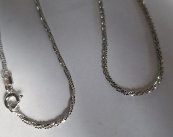 Sterling silver necklace chain,free shipping