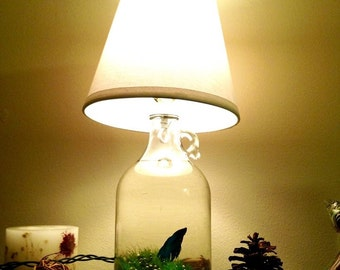 Customizable Jug Lamp