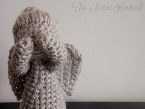 Amigurumi Weeping Angel Pattern : Dr Who Weeping Angel Crochet Amigurumi. Handmade Soft Toy.