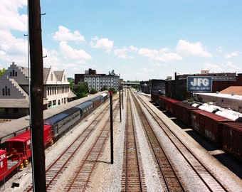 Down The Tracks- 8x10- Knoxville, TN