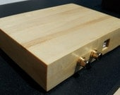 External Audiophile Solid Maple USB Sound Card For Computers And Laptop Computers