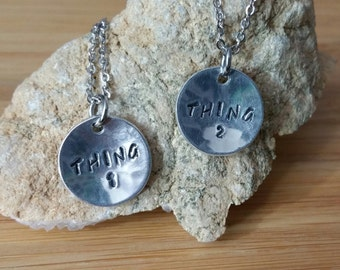 Thing 1 and thing 2 etsy for Cat in the hat jewelry
