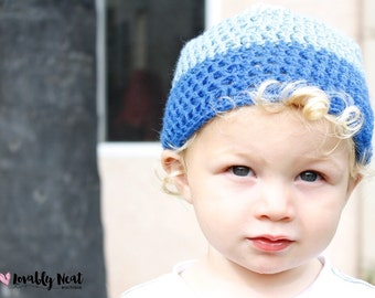 Just for Him Crocheted Beanie - Handmade Beanie - Boys Hat - Perfect Beanie
