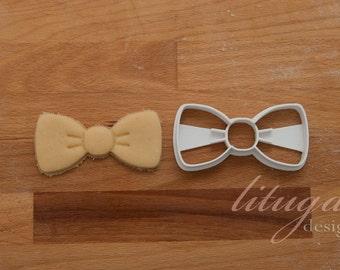 Bow, bowtie cookie cutter - tie, necktie, bow tie