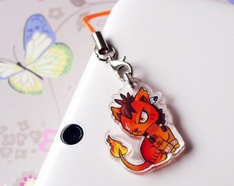 Red XIII Acrylic Charm, Final fantasy VII