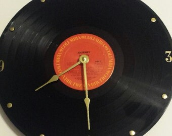 Journey (Infinity) 33 Record Clock