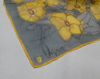 Vintage Vera Flowered Scarf