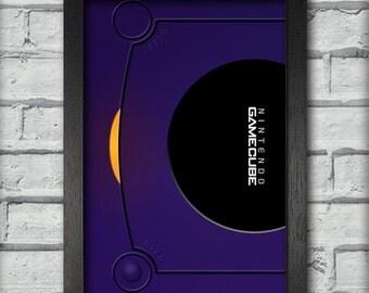 Gamecube Top Art Print