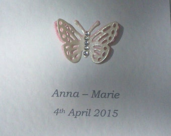 Baby Butterfly Mini Frame
