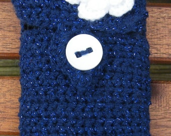 Crocheted phone cover (cell phone/mobile phone)
