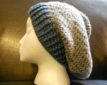 Silver Slouch Hat