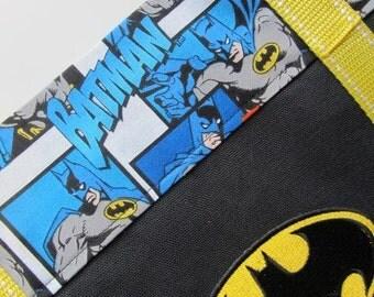 Large Canvas Batman Tote Bag