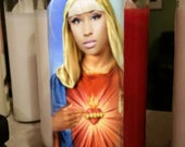 Nicki Minaj Saint Candle- Nicki the Ninja