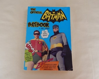 Vintage The Official Batman Batbook by Joel Eisner