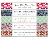 Etsy Shop Banner - Etsy Banner - Shop Banner-patterns