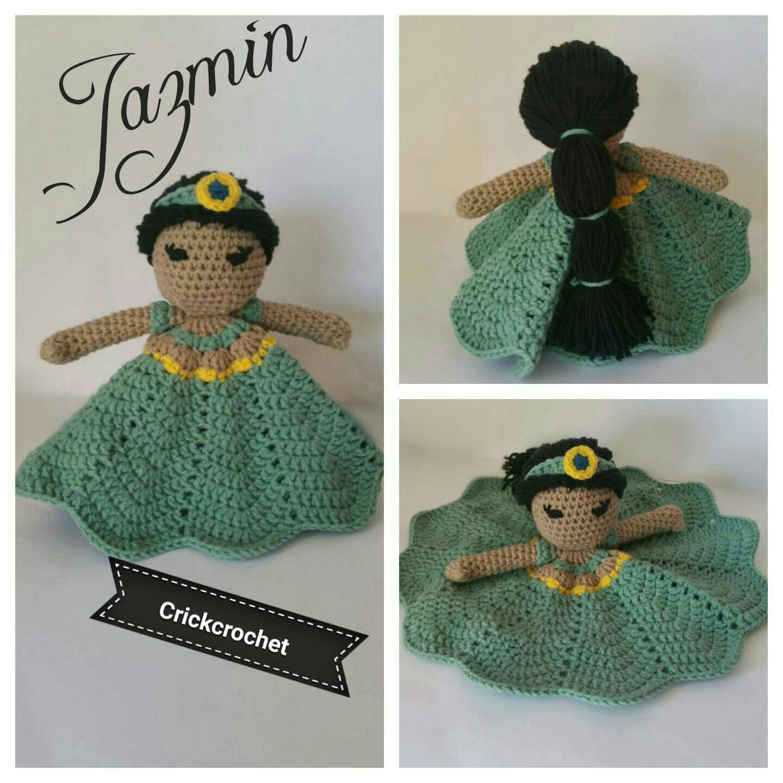 Amigurumi Princesas Disney : Jazmin Aladin amigurumi princesas Disney princess Disney