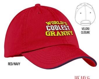 Cool Granny, Granny Gift, Granny Hat, Granny To Be, Granny Birthday, Birthday Gift For Granny, Best Granny, Awesome Granny