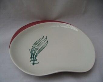 Carlton Ware Palette Shaped Plate