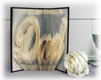 "Book Folding Pattern ""Dad"" + FREE Tutorial"