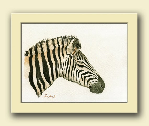 Zebra Head Wall Decor : Zebra animal head africa safari decor