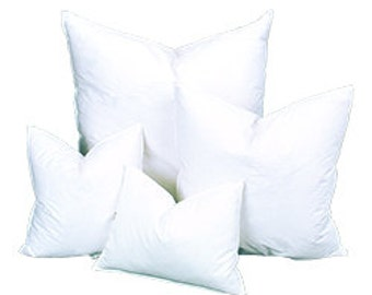 10/90 Down 14x26 Down Feather Pillow Insert, Pillow Form, Pillows