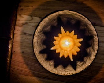 100% Beeswax Floating Star Candle