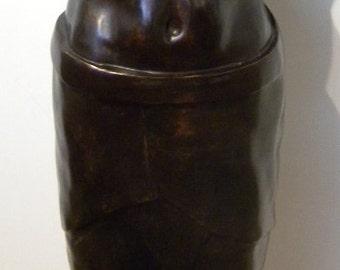 Male Torso Bronze